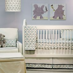 grey walls with cream carpet, nursery - Google Search