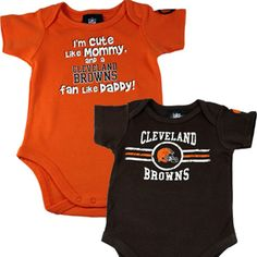 9ca5f12ad56 Cleveland Browns Cute Like Mommy Onesie  Cleveland  Browns  Infant  Baby   Toddler