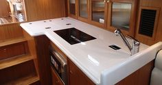 Does your galley have sink covers? Do you use them?