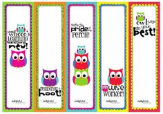 From The Heart Up.: FREE printable bookmarks