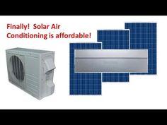 How To Install A Solar Hybrid Air Conditioner - http://www.gottagodoityourself.com/how-to-install-a-solar-hybrid-air-conditioner/