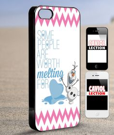 Olaf Melting quote  iPhone 4/4s/5/5s/5c Case  by coviolection, $15.00