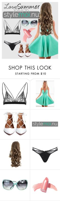 """""""#STYLEMOI bra"""" by tally-stew ❤ liked on Polyvore featuring Agent Provocateur, Chanel, Elizabeth Arden and stylemoi"""