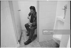 Singer James Dean Bradfield, of Welsh alternative rock group the Manic Street Preachers, Bangkok, Thailand, 27th April 1994.