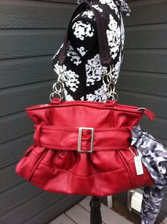 Signature Style, Fashion Backpack, Purses And Bags, Red, How To Make, Handmade, Hand Made, Craft, Handarbeit