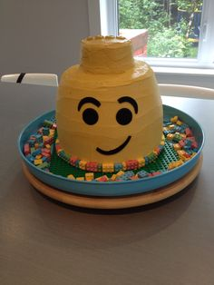 Lego cake Lego Cake, Desserts, Food, Meal, Deserts, Essen, Hoods, Dessert, Postres