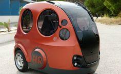 Carro compacto movido a ar comprimido tem autonomia de 128 km e quase não polui