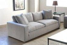 SF177 Plume Sofa in Light Gray