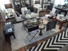 Our Rental Home 2013 - Living Room - Styled with thrift finds from FL to AZ - Lynda Quintero-Davids aka NYCLQ at Focal Point Styling