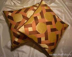 'подушки - плетенка'
