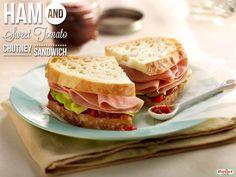 Ham and Sweet Tomato Chutney Sandwich #recipe #hormelfoods