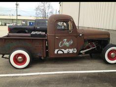 Ratrod truck