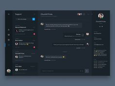 Daily UI #9 - Support Chat - Page Speed Dashboard