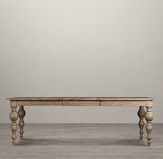 Grand Baluster Rectangular Dining Tables | Rectangular Dining Tables | Restoration Hardware