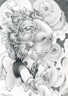 Juxtapoz Magazine - Reader Art: Kim Feigenbaum | Reader Art