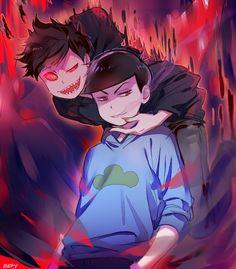 Osomatsu-san- Akumatsu and Karamatsu #Anime「♡」