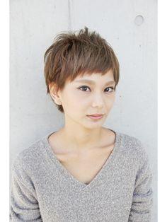 ショート - 24時間いつでもWEB予約OK!ヘアスタイル10万点以上掲載!お気に入りの髪型、人気のヘアスタイルを探すならKirei Style[キレイスタイル]で。