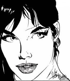 Modesty Blaise screenshots, images and pictures - Comic Vine Bd Comics, Comics Girls, Arte Pop, Pulp Art, Book Characters, Canvas Artwork, Pulp Fiction, Face Art, Comic Books Art