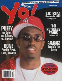 TUPAC EAZY E #PUFFY LIL KIM MISSY SHAQ DC YO #MAGAZINE JAN 1998 NO LABEL NEW $19.99