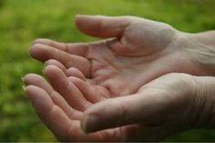 Bidden met open handen
