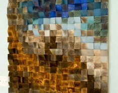 Reclaimed Wood Art Reclaimed Wood Wall Decor by ArtGlamourSligo
