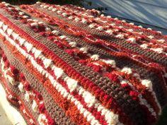 Crochet Dynamite: Bacon Baby Blanket 2.0