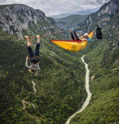 Extreme Camping anyone?