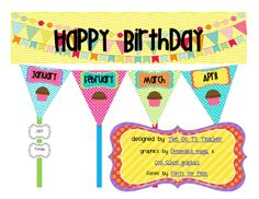 The Go To Teacher: Birthday Bunting