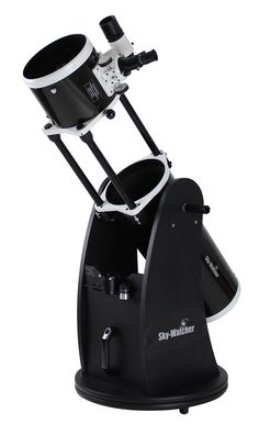 """Sky-Watcher 8"""" Collapsible Dobsonian Telescope by Sky Watcher List Price: $629.95 Price: $429.99 & FREE Shipping. Details You Save: $199.96 (32%) In Stock. available from astronomyandtelescopesforyou.com"""