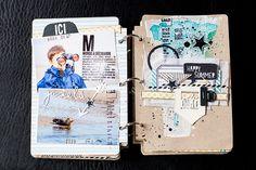 Skc kit de juillet: Mini album baie de somme 2013