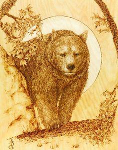 Wood-Burning Wildlife Patterns | Wildlife Wood Burning Stencils Wildlife fur and…