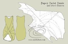 well-suited: Pattern Puzzle - Paper Twist Tunic