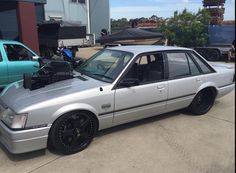 Holden VK commodore, blown injected SS