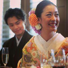 和装2 Japanese Wedding Kimono, Japanese Kimono, Japanese Fashion, Japanese Hairstyle, Culture, Bride Hairstyles, Traditional Outfits, Wedding Styles, Wedding Ideas