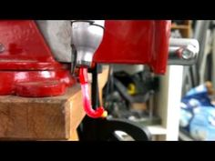 DIY manual plastic bottle extruder, recycle milk jugs into filament test#1  JAAK LAB - YouTube