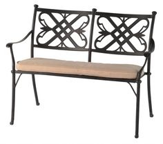 Buckingham Bench (1 Bench & Cushions)  #furniture #garden #summer #gardencentre