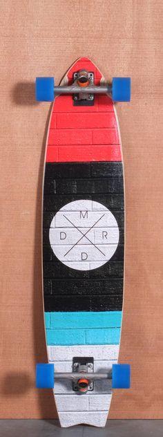 """Madrid 41.5"""" Bricks Longboard Complete"""