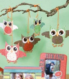 Decoration Idea:Owl Mobile