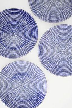 #so65 #nel blu dip into di blu A plate a day.: Blue and white