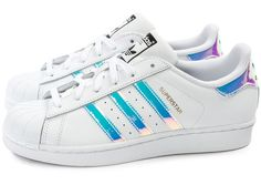 Adidas Women Shoes - adidas Superstar Irisée Junior - Chaussures Femme - Chausport - We reveal the news in sneakers for spring summer 2017