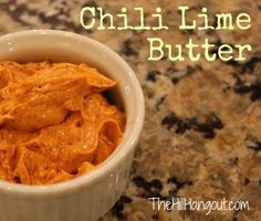 Chili Lime Butter is a terrific recipe for corn. Serve it with grilled chicken and a salad for a complete family meal.- The Hill Hangout