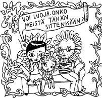 Katja Tukiainen: sarjakuva