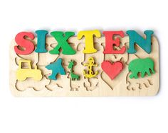 Personalized Wooden Name , Create Your Puzzle, Custom Name Puzzle, Personalized Toy
