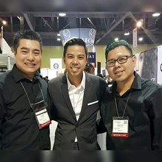With Robert Nguyen and Andy Ho at the 2017 ISSE Long Beach, 01/2017.