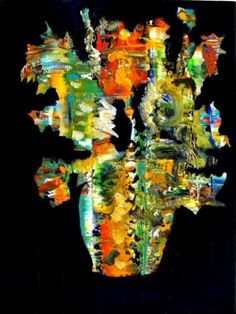 "Saatchi Art Artist Paolo Cervino; Painting, ""About poetry n. 73- vincent's sunflowers"" #art"