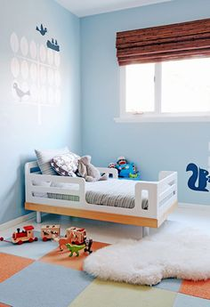 I love this toddler bed.