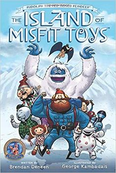 The Paperback of the Rudolph the Red-Nosed Reindeer: The Island of Misfit Toys by Brendan Deneen, George Kambadais Childrens Christmas Gifts, Christmas Tree Lots, Christmas Books, Christmas Classics, Christmas Characters, Christmas Holiday, Christmas Decorations, Christmas Comics, Office Christmas