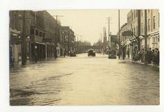Brampton Ontario Flood 1961 Canadian History, Ontario, Canada, Places, Pictures, Photos, Resim, Lugares, Clip Art
