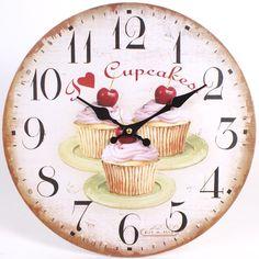 cupcake clock - Google Search