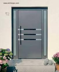 Resultado De Imagen Para Puertas De Herreria Minimalistas Puertas De Aluminio Puertas De Entrada Puertas De Entrada Aluminio